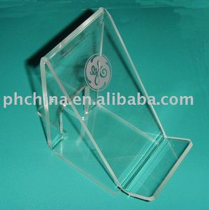 SE-43 Clear Acrylic Mobile Phone Display Stand,Acrylic Mobile Phone Holder,Acrylic Phone Rack