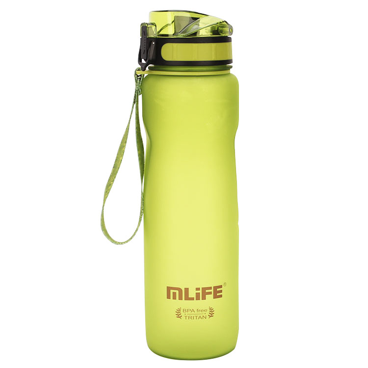 Mlife 2019 1000ml Plastic Drinking Bottle BPA Free Water Bottle <strong>Sports</strong>