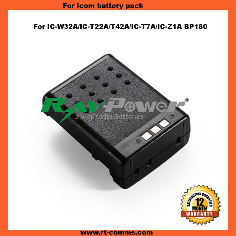 Ni-cd Battery Pack Bp180 For Icom Ic-w32a/ic-t22a/t42a/ic-t7a/ic-z1a - Buy  Bp180 Battery For Icom,Two Way Radio Battery For Icom,Walkie Talkie Battery