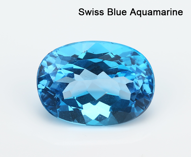 Large Size Oval Cut Natural Loose Aquamarine Stone, View ...