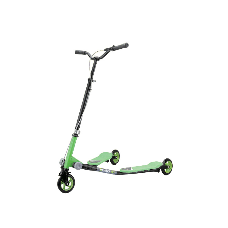 Professional design fashion multi-function foldable adult swing scooter