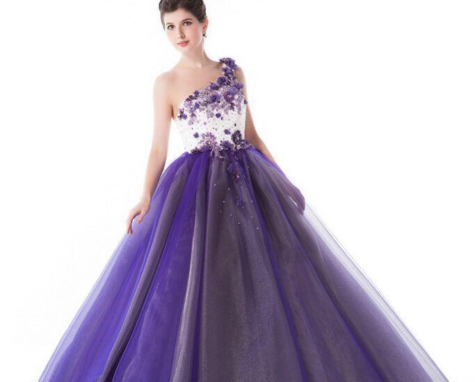 Cheap Purple Ball Gown Dresses, find Purple Ball Gown Dresses deals ...
