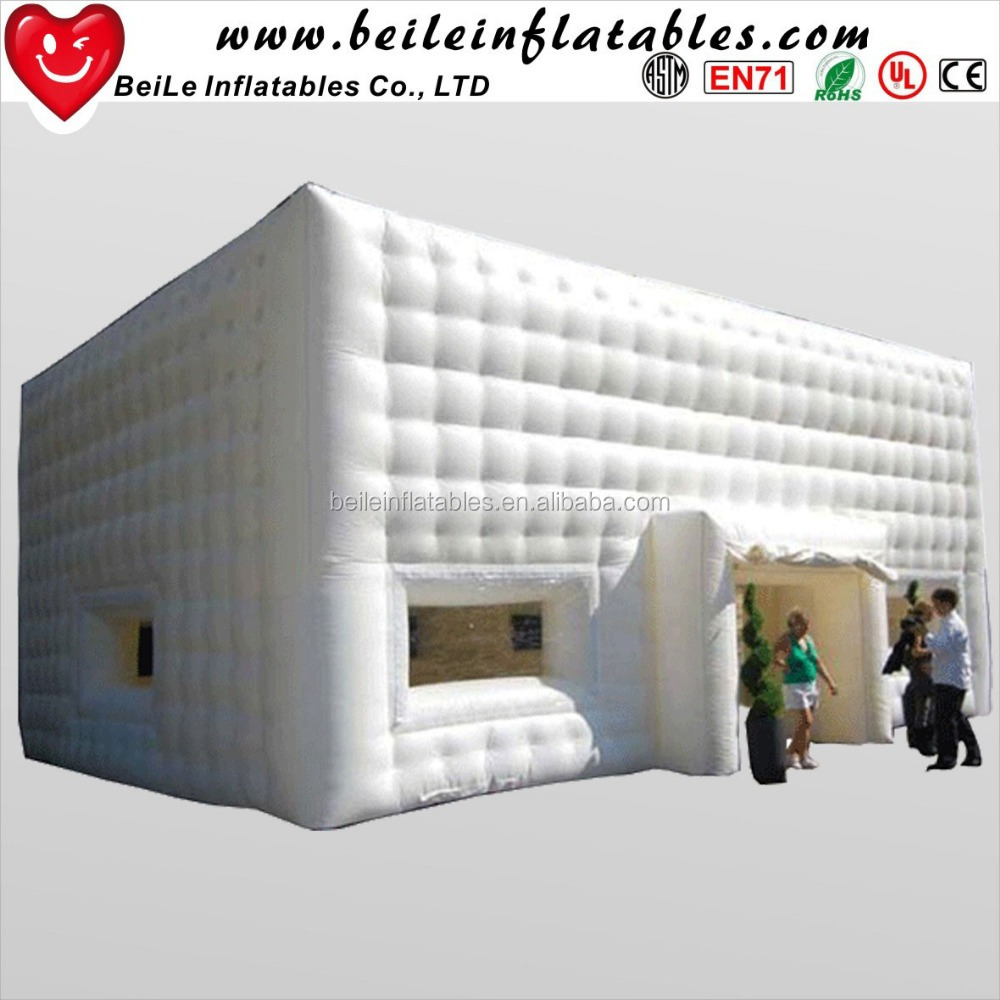 Hot sale customized large cube tent <strong>inflatable</strong>