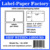 laser address printing stickers Amazon ebay USPS 50 sheets shipping label 8.5 x 11