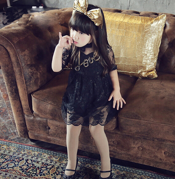 2-16 years old yiwu wholesaler children sexy lace flower dress fashion baby  girl maxi