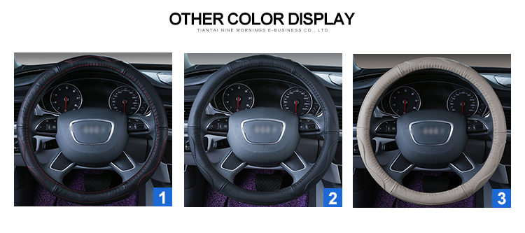 Best Design Breathable Steering Wheel Airbag Cover