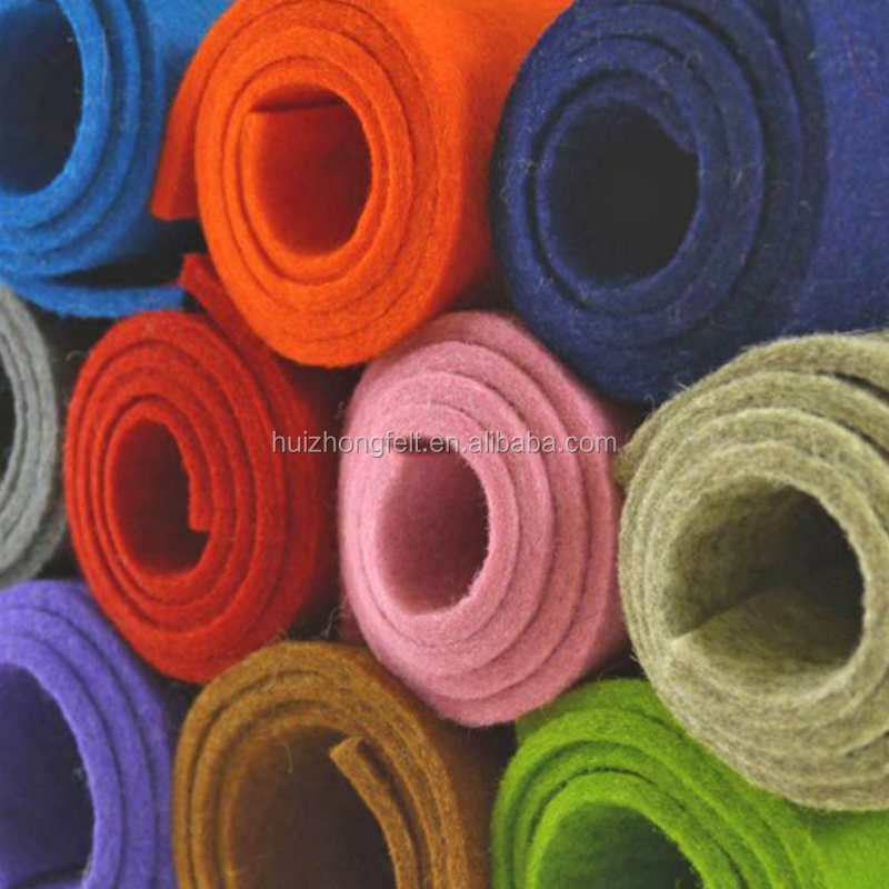 Manufacturer 100% Polyester/Needle Punched Non-woven/Fabric/Cloth/Felt