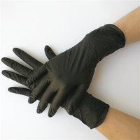 Factory cheap price disposable blue nitrile gloves for examination
