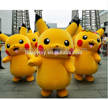 HI CE japan cartoon character mascot adult pokeman inflatable pikachu mascot costume