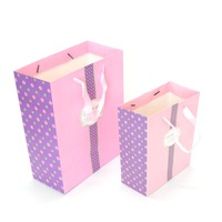 China Manufacturer Wholesale Rope Handle Various Size Custom Made Paper Gift Bags For Valentine Day