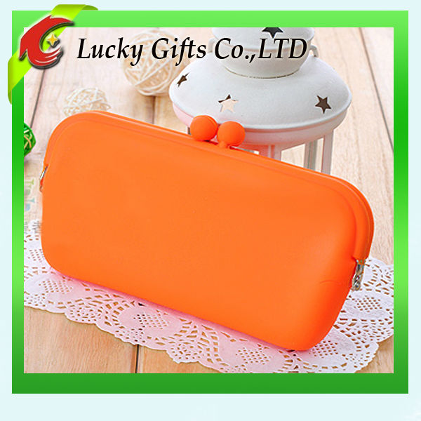 Fashion silicone travel cosmetic bag