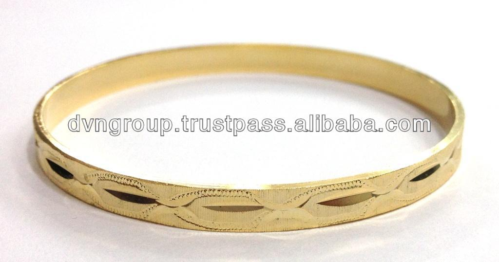 6 Mm,Gold Plated Bangle,Machine Cut Bangle,New Designer Bangle ...