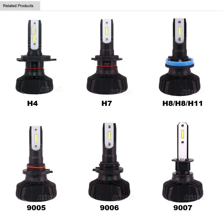 Autos, motocicletas faros led BOMBILLAS h11 h7 led coche h4 color dual