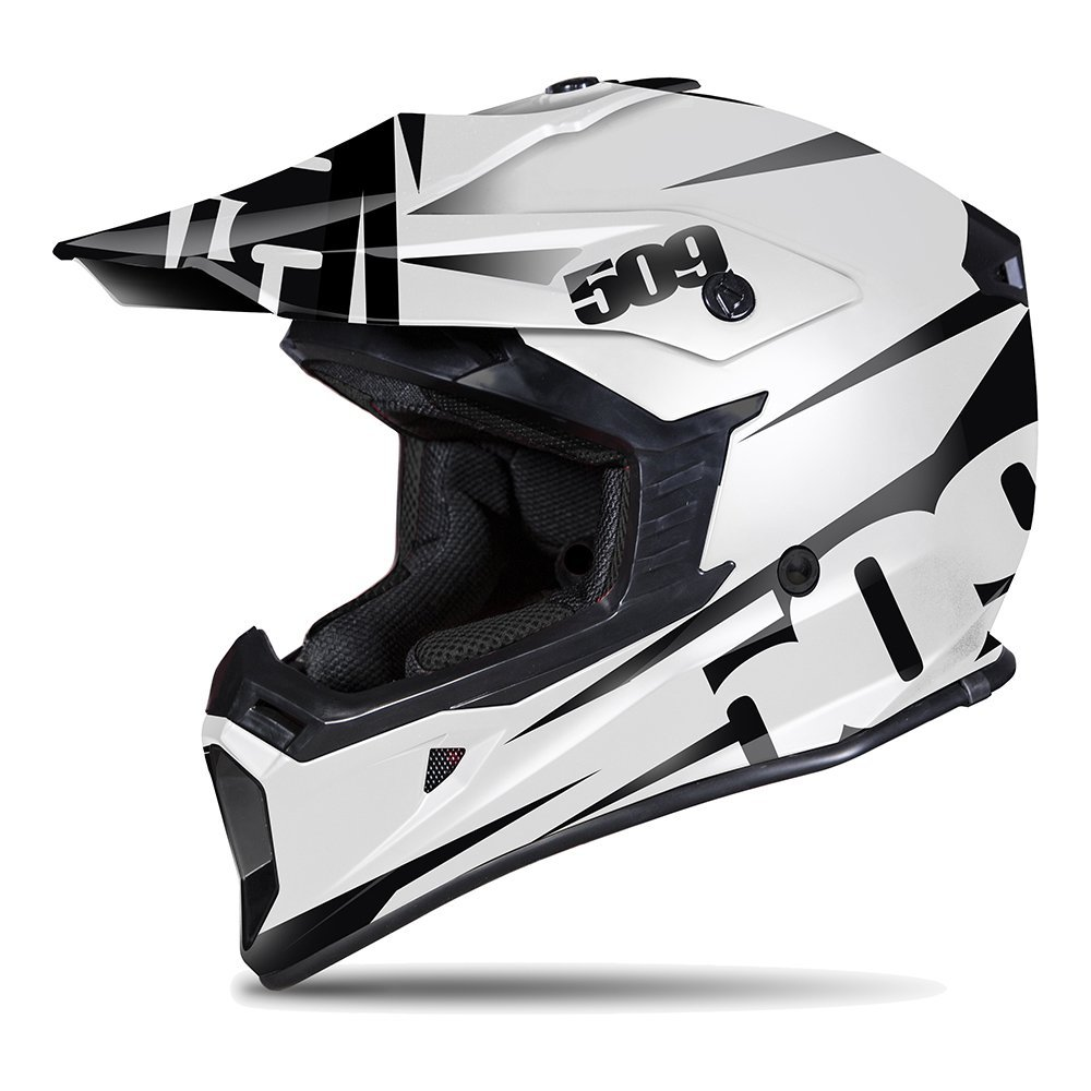 Snowmobile Gear Gloss Black 509-HEL-CF2-** 509 C2 Carbon Fiber Helmet