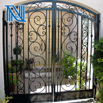 Wrought Iron Porch Gate | Tyres2c