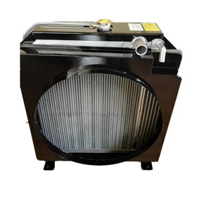 Plate Fin Aluminum turbo radiator manufacturer water tank cooling & oil radiator