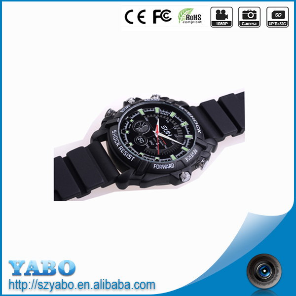Best selling products in america 1080p plus tech camera night vision watch 16GB