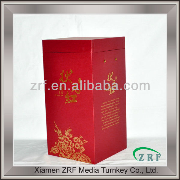 Custom Paper Food Wine Packaging Box