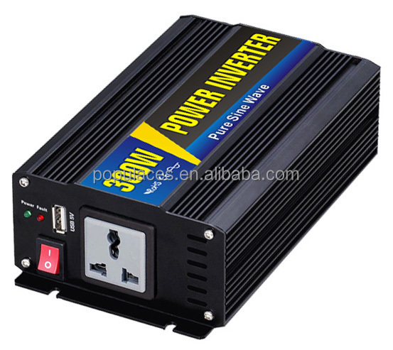 DC to AC Solar Power Inverter 300 watt Pure sine wave ac inverter 300w