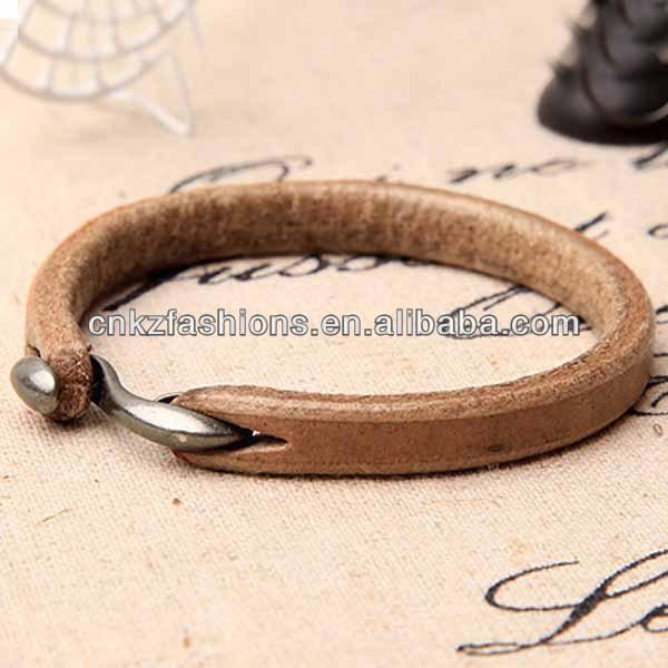 Most Por Triple Wrap Plain Leather Bracelets For Men
