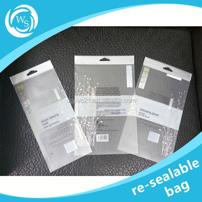 resealable plastic eva bag with handle