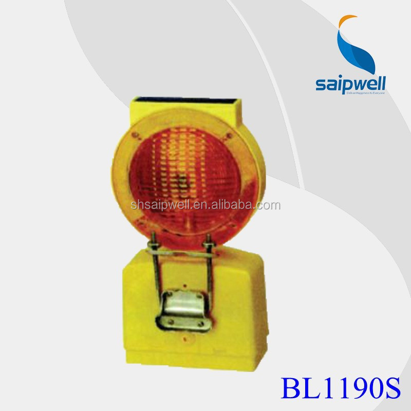 Saip / Saipwell High Quality Solar Power Road Construction Warning Light with CE Certification