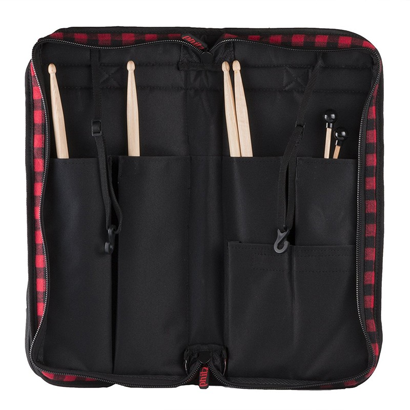 Percussion Professional Custom Black Drum Stick Bag