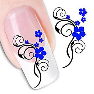 Nicedeco - 1pack New Products Nail Design Manicure Decals Nail Art Water Nail Art Decal / Tattoo / Sticker Nail Decorate Nail Art Water Water Nail Art Decal / Tattoo / Sticker BE296