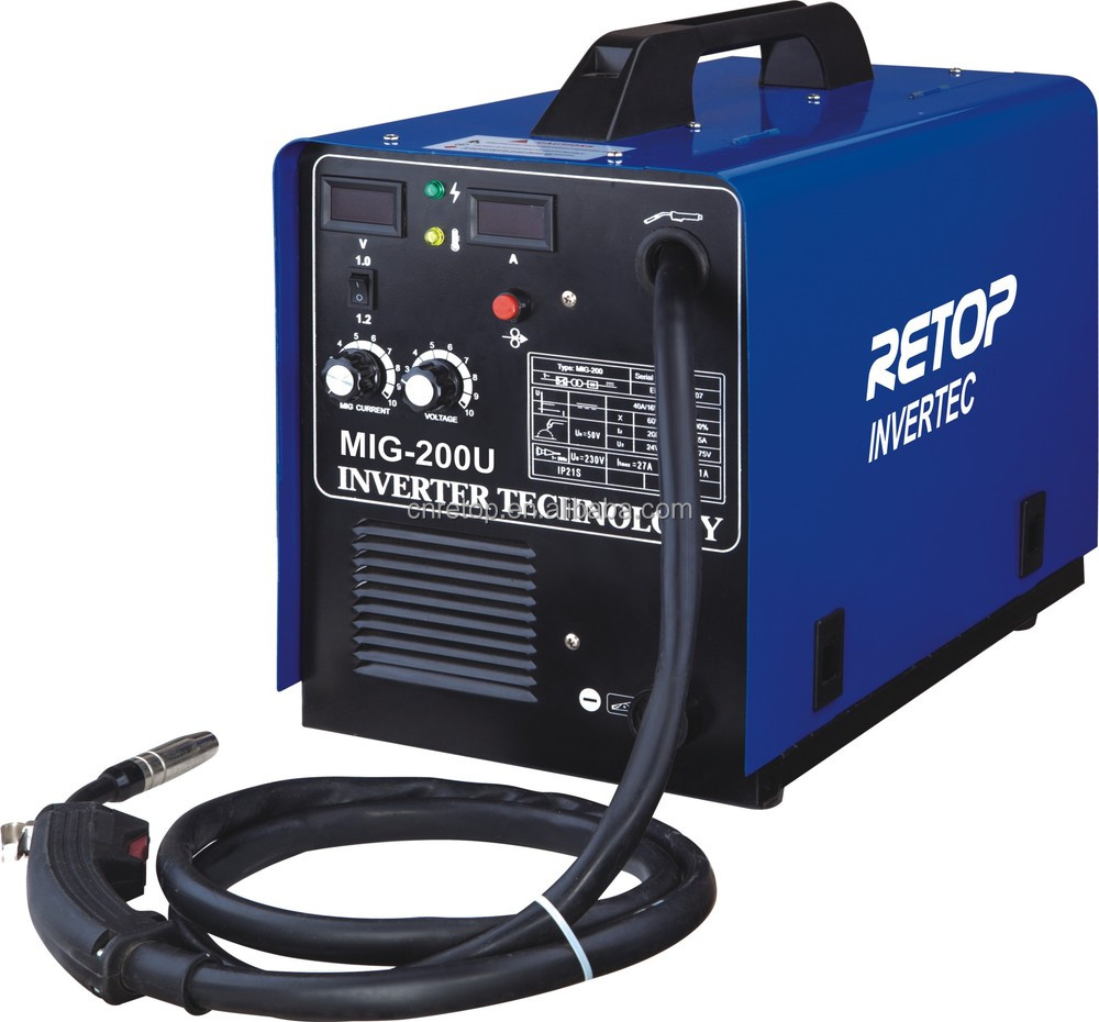 Mig-200 Igbt Inverter Co2 Mig Welding Machine - Buy Mig-200 Igbt ...