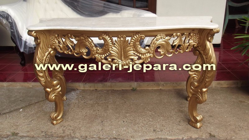 Hand Carved Wooden Furniture - Console Table With Marble Top - Buy Antique Hand  Carved Wood Furniture,Baroque Style Solid Wood Console Table,Wood Curved ...