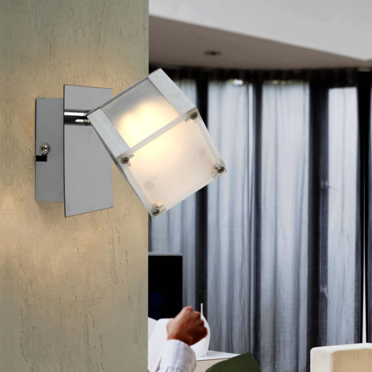 China cheap product fancy cube reading wall lights led small wall sconces