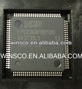 LPC2368FBD100 100% NEW IC ARM7 MCU FLASH 512K 100LQFP