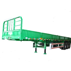 3 axles 40ft side wall semi trailer