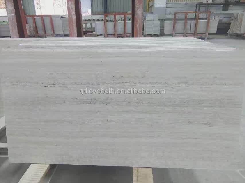 Athena grigio mattonelle di marmo effetto legno pavimento di
