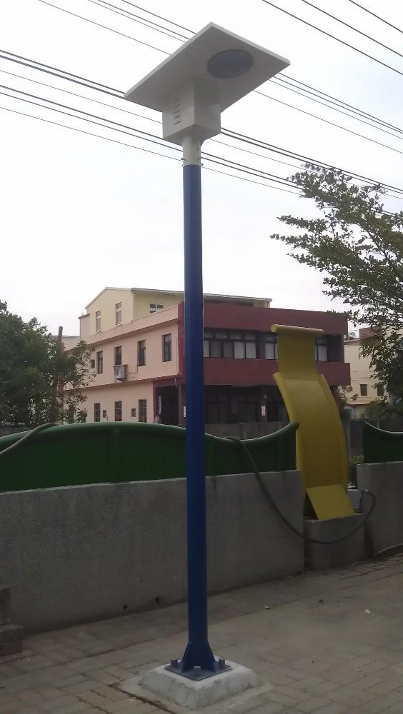 School Zone All In One Smart Energy Saving Solar Led Street Light ...