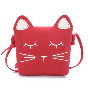 2828eabfce58 Little Girls Purses Pink Cute Cat Shoulder Crossbody Bag for Kids Girls Cat  Crossbody Bag