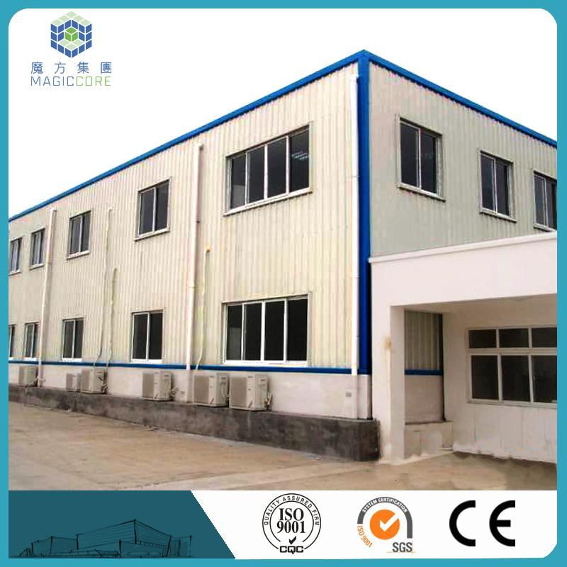 Low cost mobile luxury prefabricated houses High Quality Prefab Structural Steel Fabrication Portal Workshop/Warehouse/Building