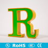 High quality LED light sign letter support sample letter offering for outdoor indoor used