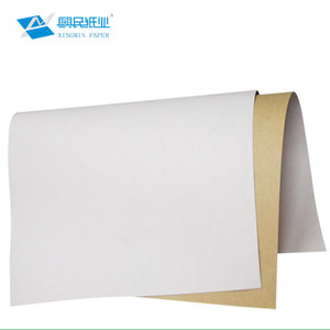FSC white back kraft paper for package wrapping