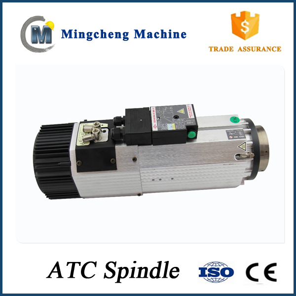 ATC three phase 9 kw cnc router spindle motor air cooled spindle automatic tool change ISO30/BT30 same as HSD