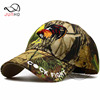 Camouflage army hat embroidery colorful cock fight special baseball cap Winter cotton warmed outdoor hiking sports baseball hats
