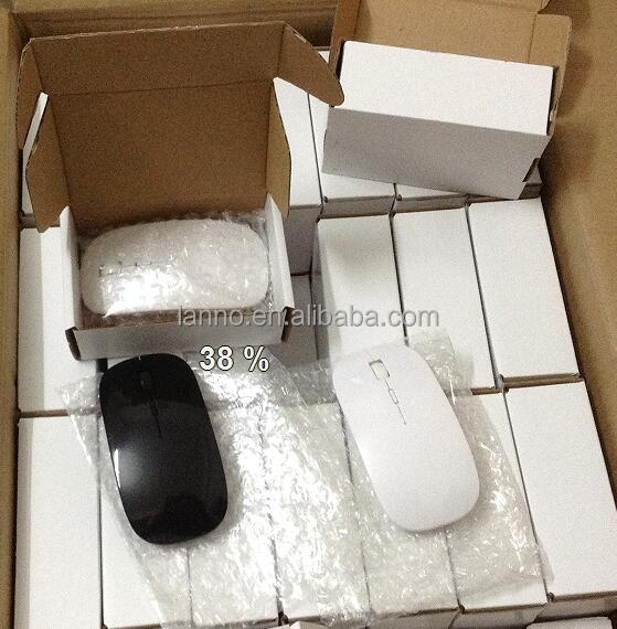 Customized Mini Power Mouse with Retractable Cord