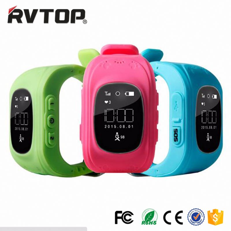 2017 Hot Best kids with free samples waterproof gps watch for kids