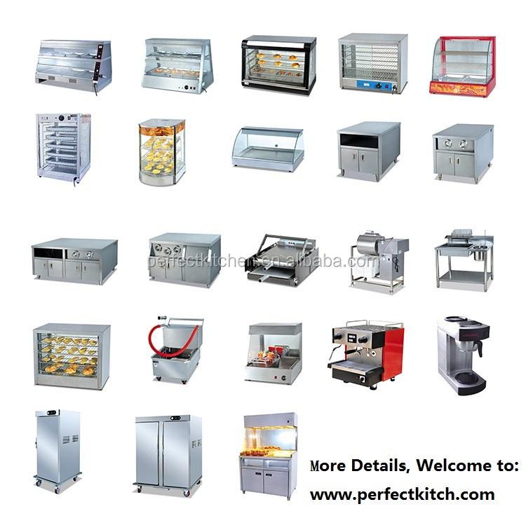 Glass Food Display Warmer /kfc Warmer Display Cabinet - Buy Hot Food ...