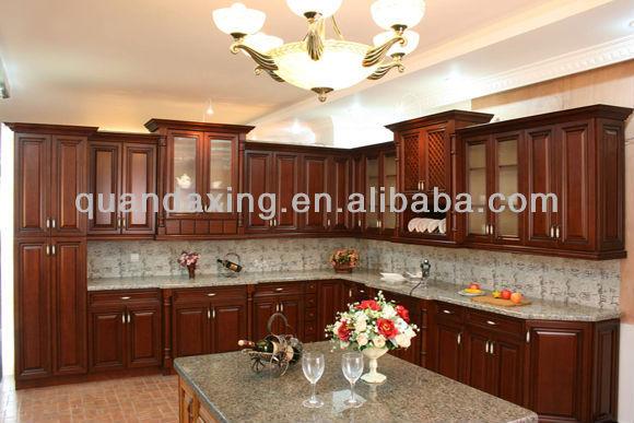 Dise o de lujo antiguo arce mueble cocina muebles de for Proyecto muebles de cocina