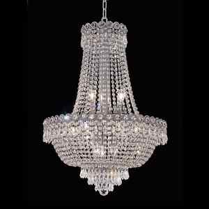 Metallic centerpiece chandelier modern crystal chandelier
