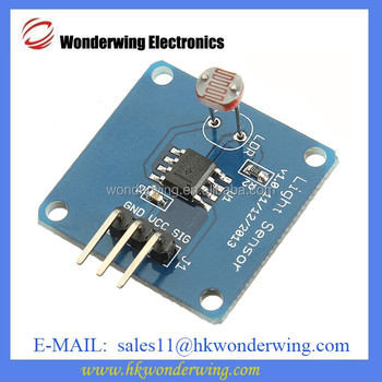 LDR Light Sensor 5528 Photoresistor Light Detection Photoresistance  Building Blocks For Arduino Sensor Module