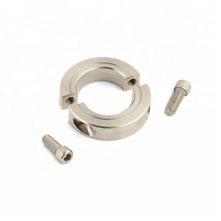 """FREE ship Qty 1 5//8"""" Inch Stainless Steel Double Split Shaft Collar"""
