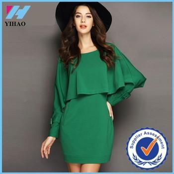 smaragdgroene jurk