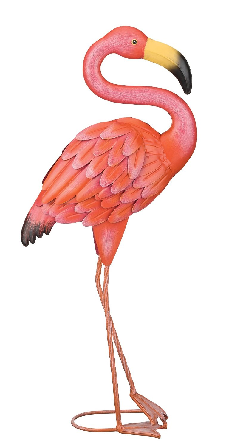 Regal Art & Gift Standing Flamingo Garden Decor, Small